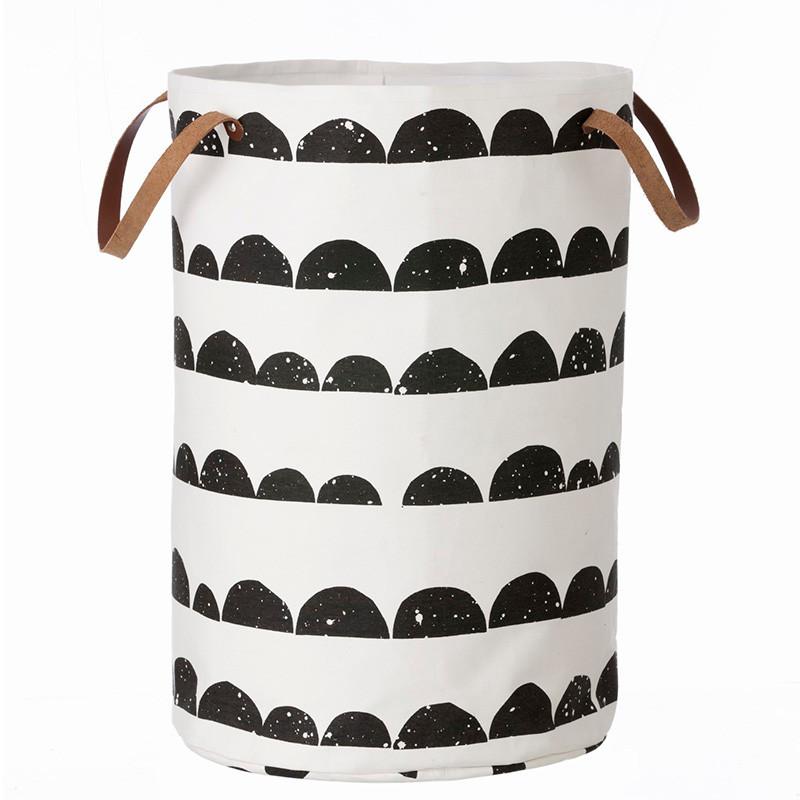Ferm living vasket jskurv half moon laundry basket - Panier a linge house doctor ...