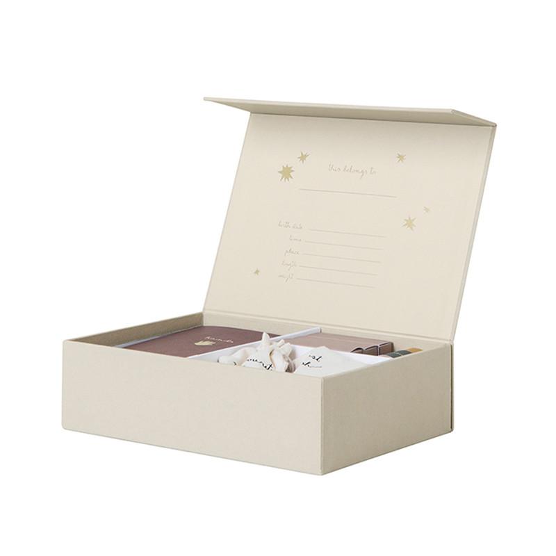 ferm living the beginning of my life box hukommelsesboks til de f rste minder. Black Bedroom Furniture Sets. Home Design Ideas