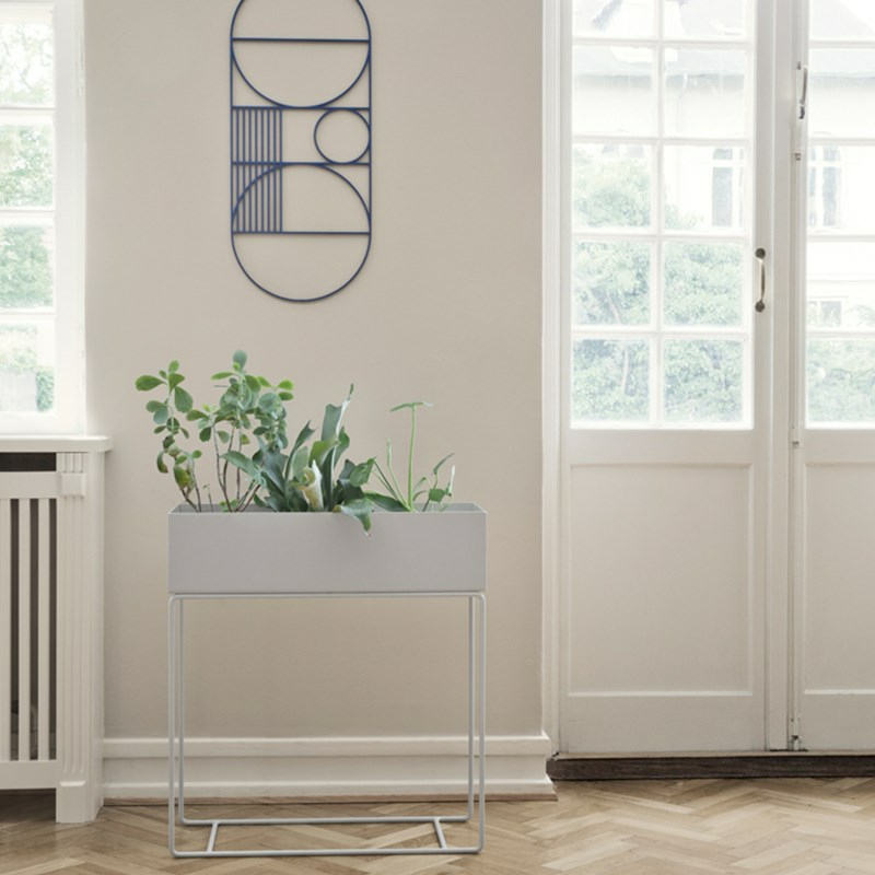 ferm living plant box plantekasse til gr nne planter. Black Bedroom Furniture Sets. Home Design Ideas