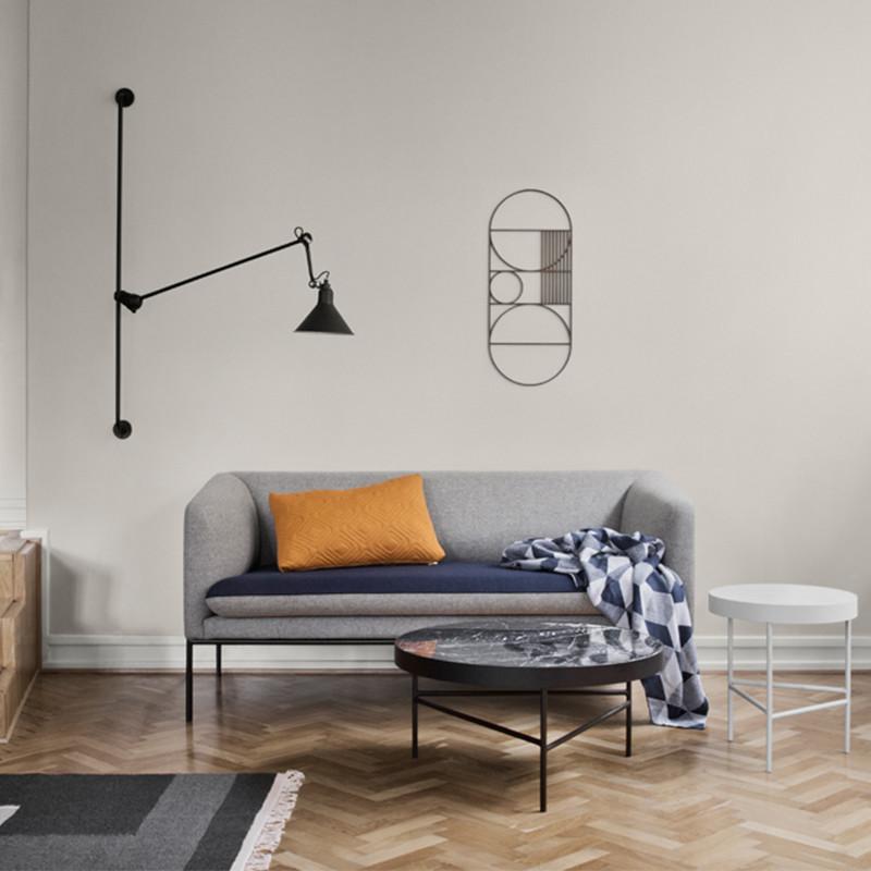 Ferm living sofa grey   turn sofa