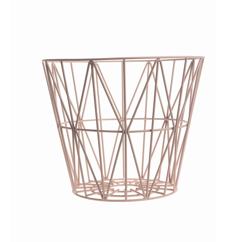 Ferm Living Wire Basket medium - Trådkurv fra Ferm Living