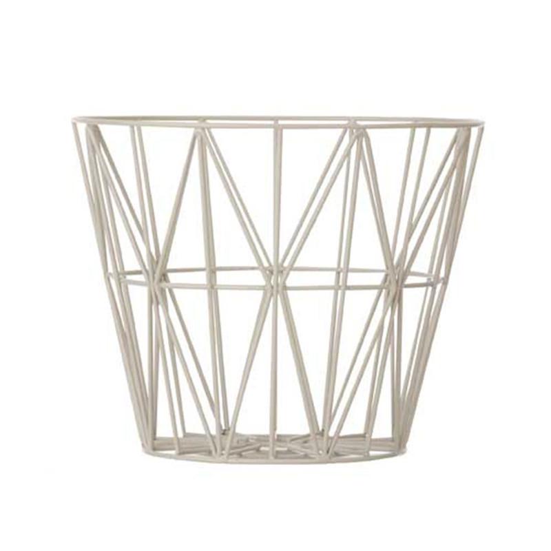 Ferm Living Wire Basket Stor Trdkurv fra Ferm Living