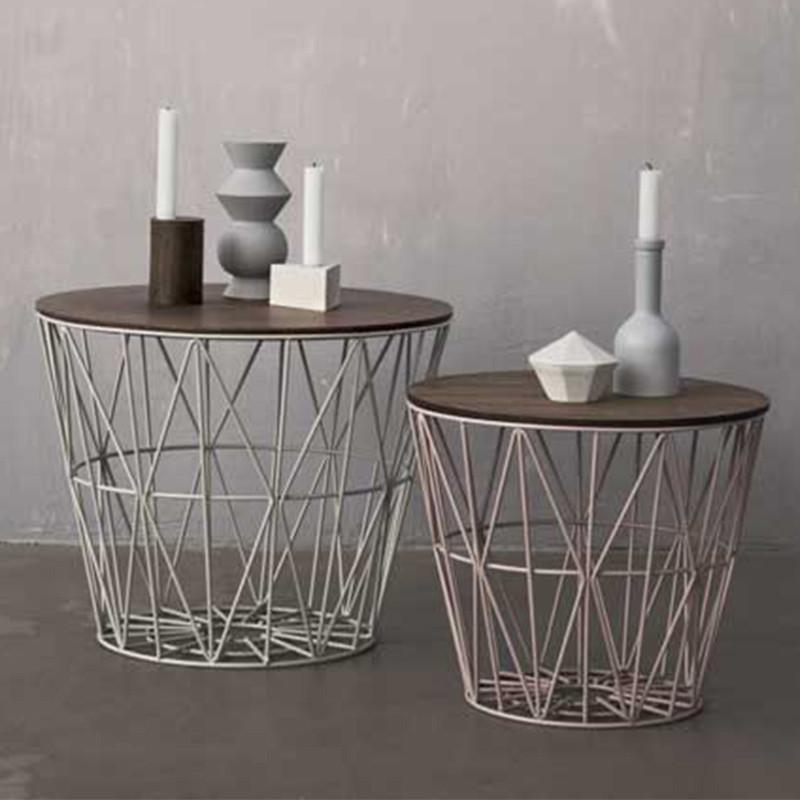 Ferm Living Wire Basket Large