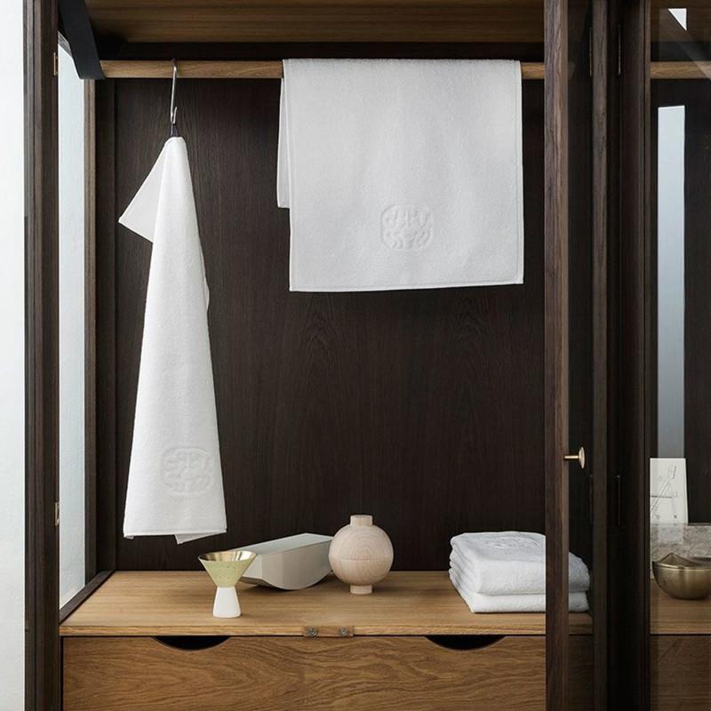 georg jensen h ndkl de damask terry hvid. Black Bedroom Furniture Sets. Home Design Ideas