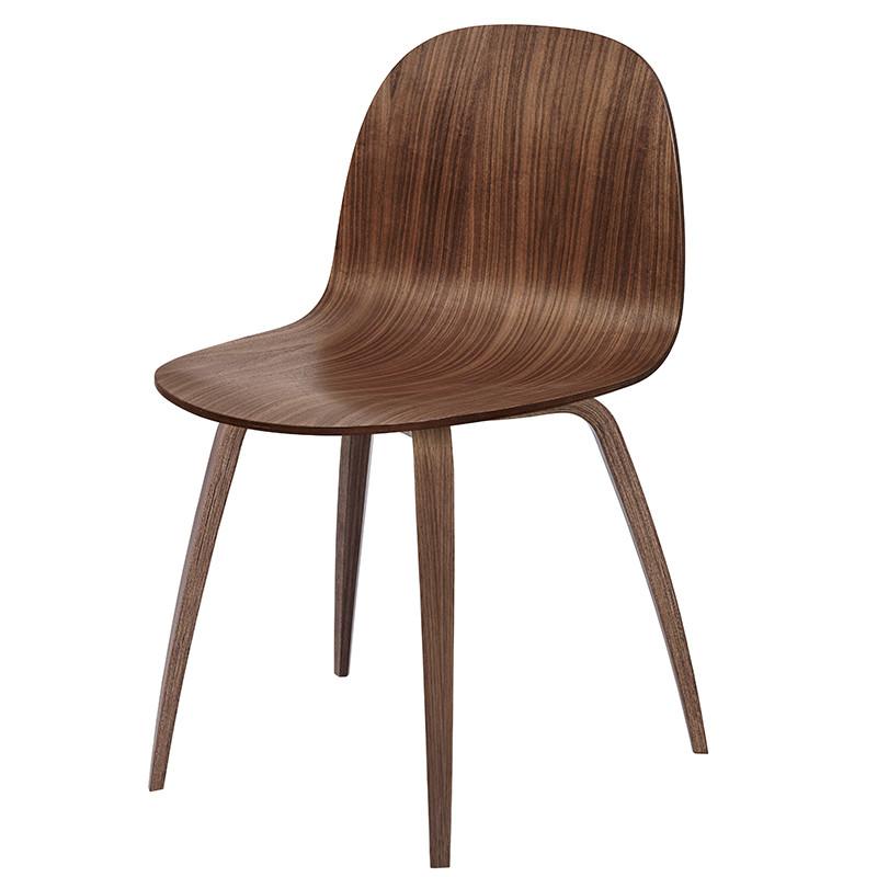 Fersk Gubi Stol - Gubi 5 stol i Valnød OZ-26