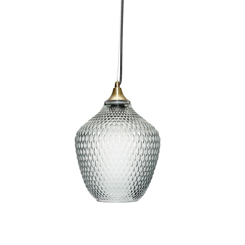 h bsch lampe messing bl glas smuk lampe til dit hjem. Black Bedroom Furniture Sets. Home Design Ideas