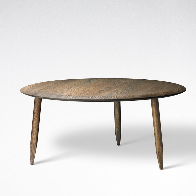 & Tradition Hoof Lounge Table SW2 - Mørkolieret Eg thumbnail