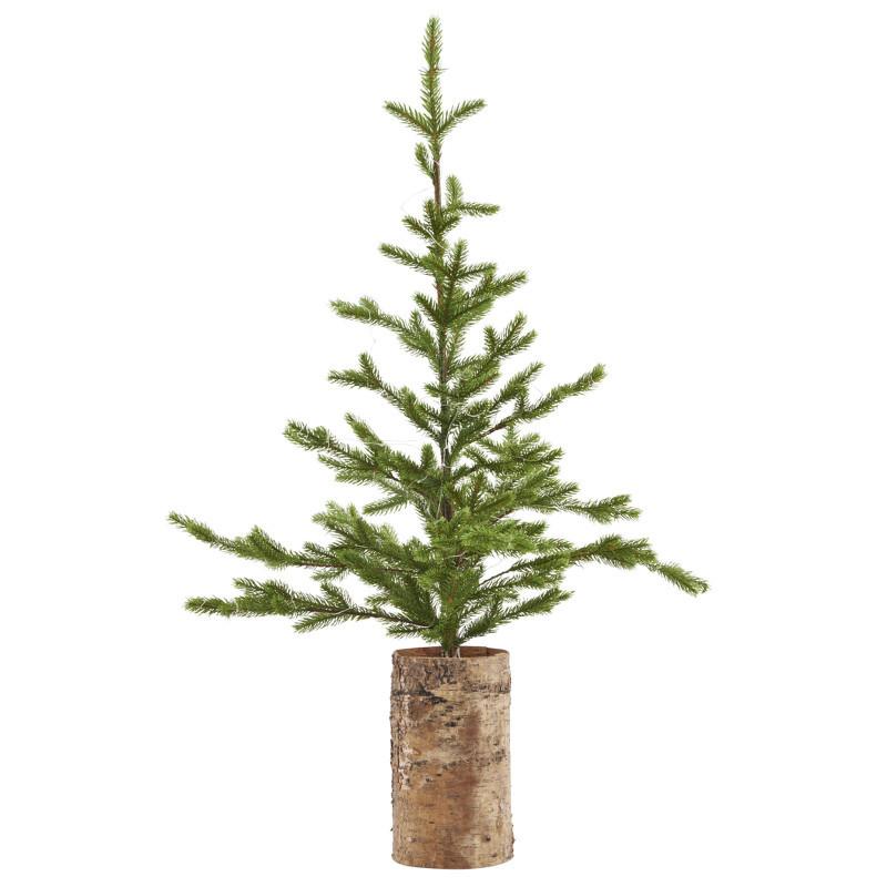 House Doctor Juletræ Med Lys & Træ bund