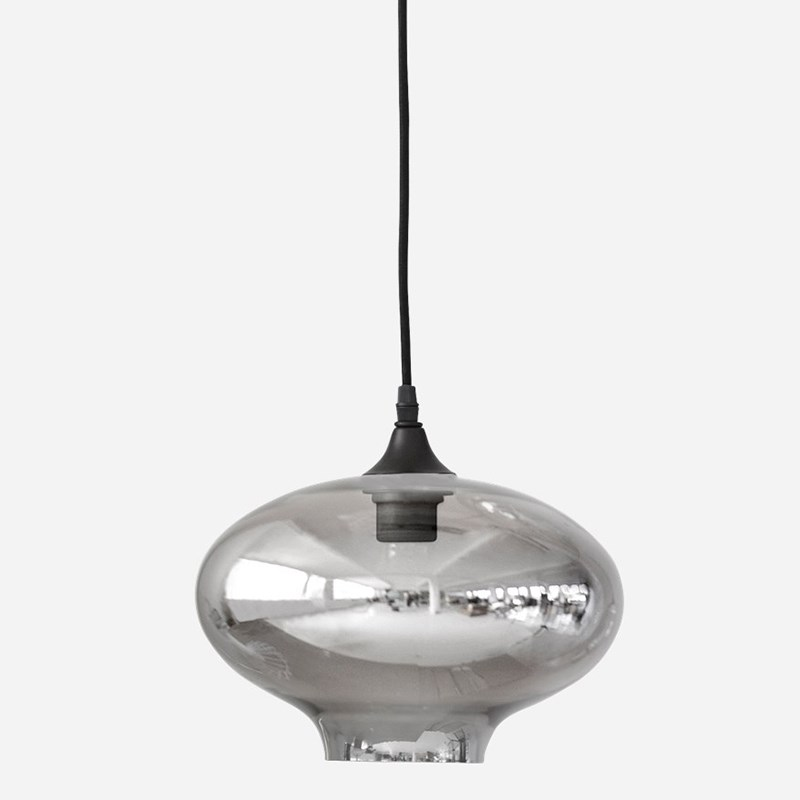 house doctor lampe ellipse smokey house doctor. Black Bedroom Furniture Sets. Home Design Ideas