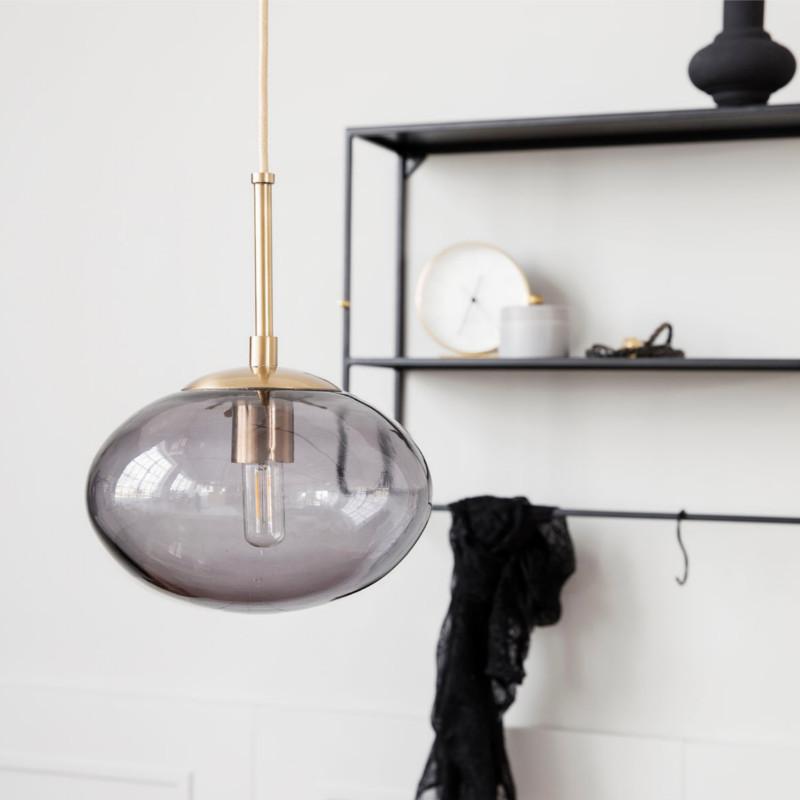 house doctor opal pendel h17 gr hurtig levering. Black Bedroom Furniture Sets. Home Design Ideas