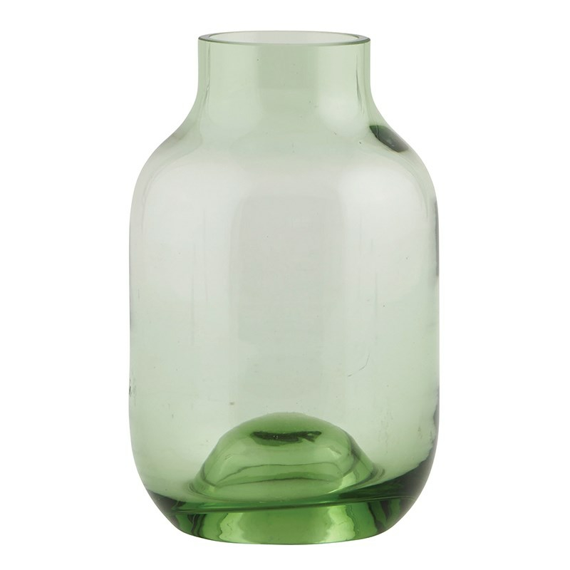 house doctor vase shaped vase gr n. Black Bedroom Furniture Sets. Home Design Ideas