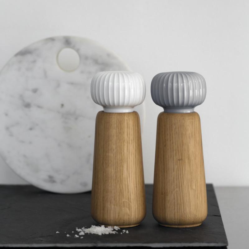 Kähler Hammershøi Salt & Peberkværn Antracitgrå
