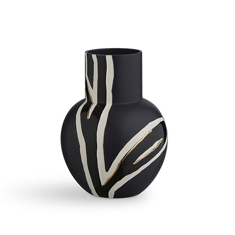 fiora vase fra k hler i midnatsbl design stine goya. Black Bedroom Furniture Sets. Home Design Ideas