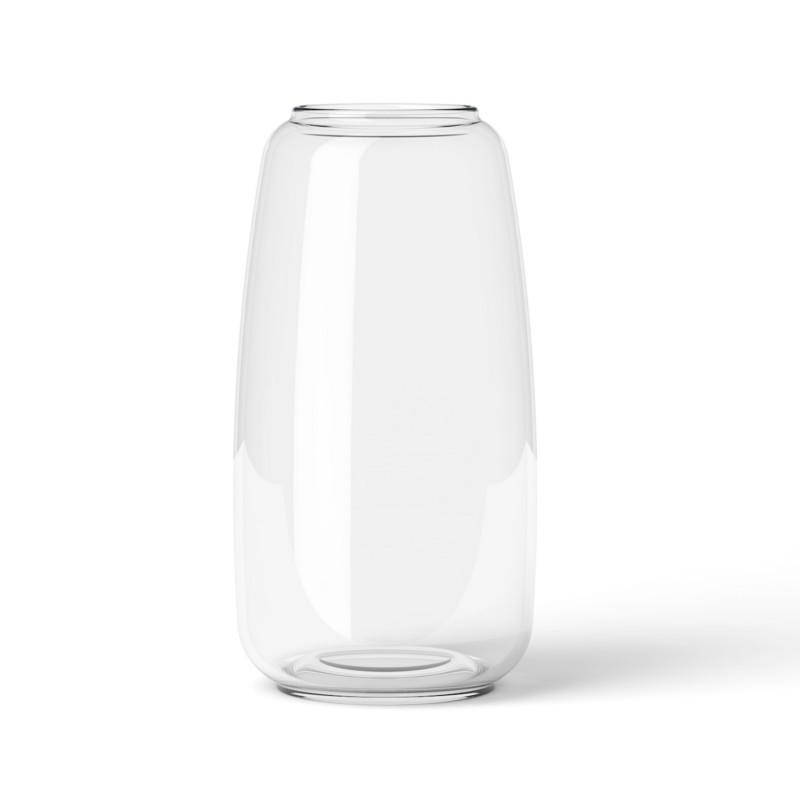 lyngby vase form i klar glas elegant slank og enkel glasvase. Black Bedroom Furniture Sets. Home Design Ideas