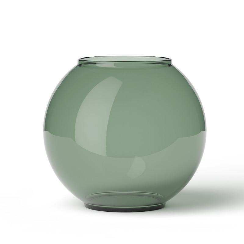 form 70 2 glas vase i copenhagen green. Black Bedroom Furniture Sets. Home Design Ideas