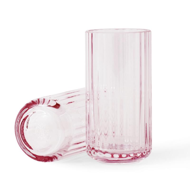 her kan du f de tre mindste lyngby vaser i rosa glas i en flot gave ske. Black Bedroom Furniture Sets. Home Design Ideas