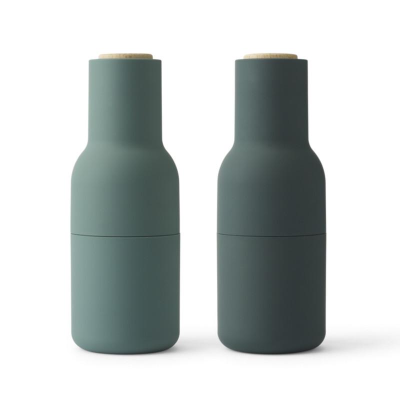 menu bottle grinder salt og peberkv rne i m rke gr n. Black Bedroom Furniture Sets. Home Design Ideas