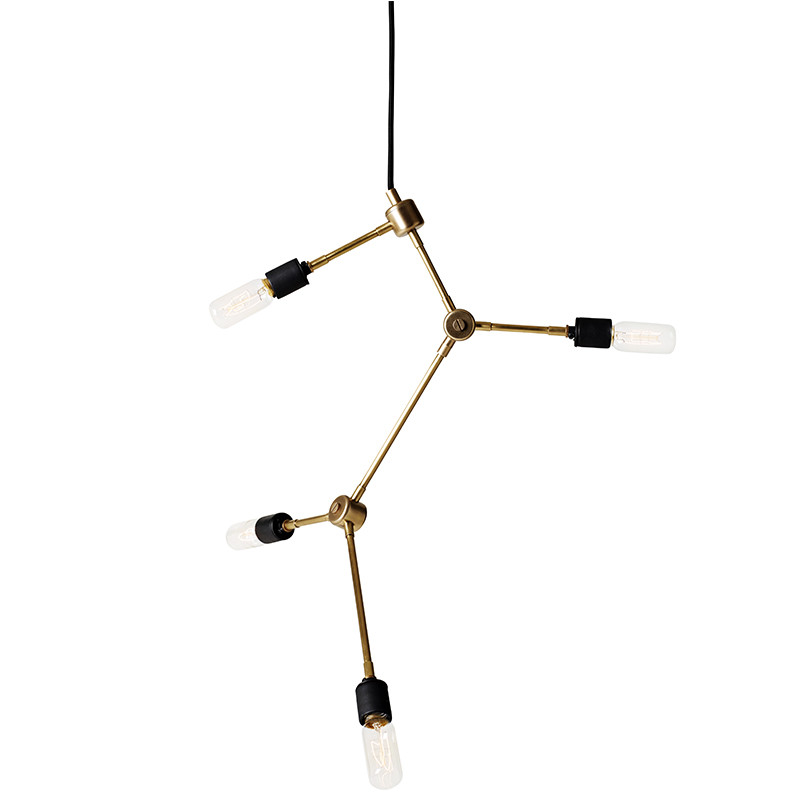 menu pendel franklin lampe nyfortolket lysekrone fra menu. Black Bedroom Furniture Sets. Home Design Ideas