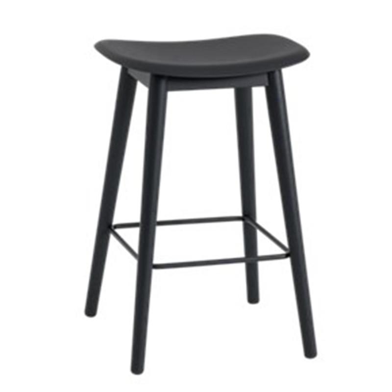 Fiber Barstol - Elegant barstol i træ