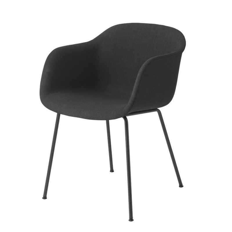 muuto fiber chair tube base spisebordsstole fra muuto. Black Bedroom Furniture Sets. Home Design Ideas