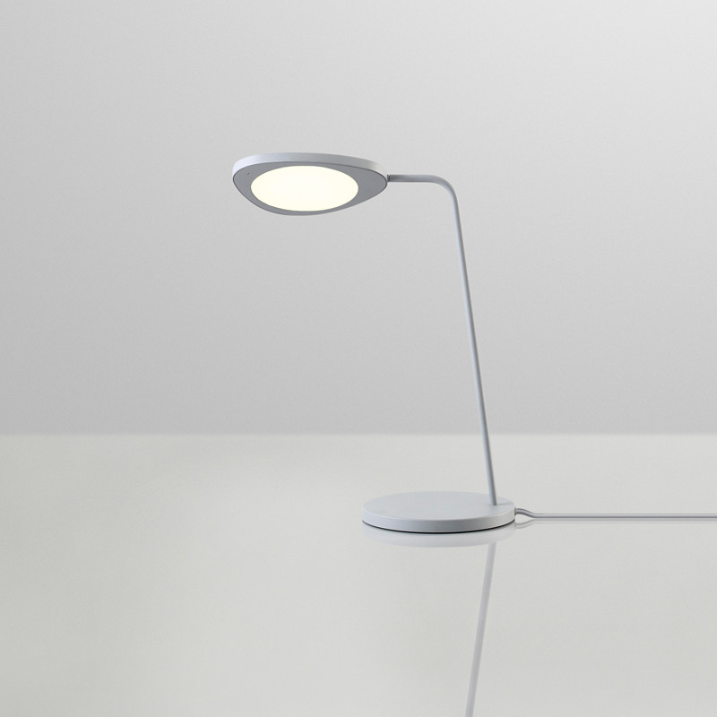 muuto leaf bordlampe bordlampe fra muuto leaf lamp. Black Bedroom Furniture Sets. Home Design Ideas