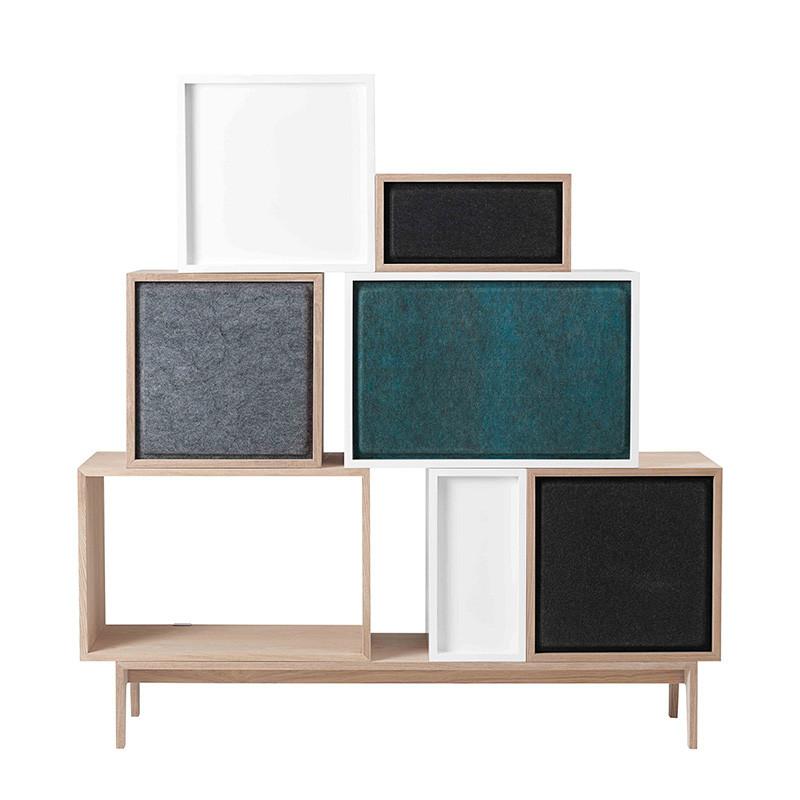 muuto stacked akustisk panel filt panel til din stacked reol. Black Bedroom Furniture Sets. Home Design Ideas