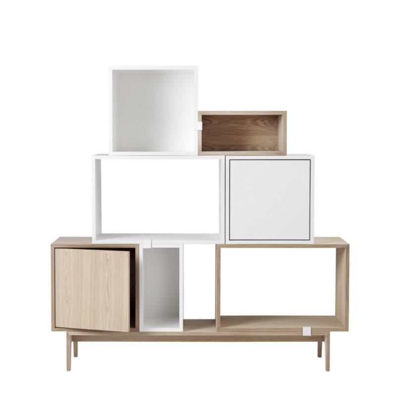 muuto stacked i ask med l ge byg dit eget stacked reolsystem. Black Bedroom Furniture Sets. Home Design Ideas