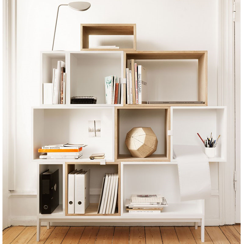 Muuto reolsystem stacked reol fra muuto for Mobili design low cost
