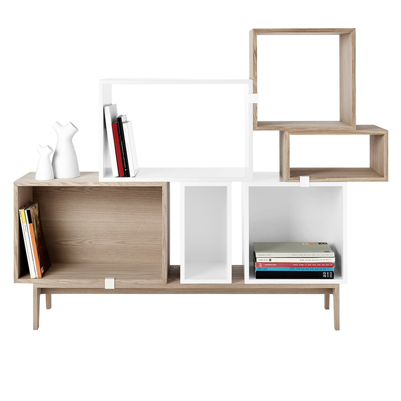muuto reolsystem stacked reol fra muuto. Black Bedroom Furniture Sets. Home Design Ideas