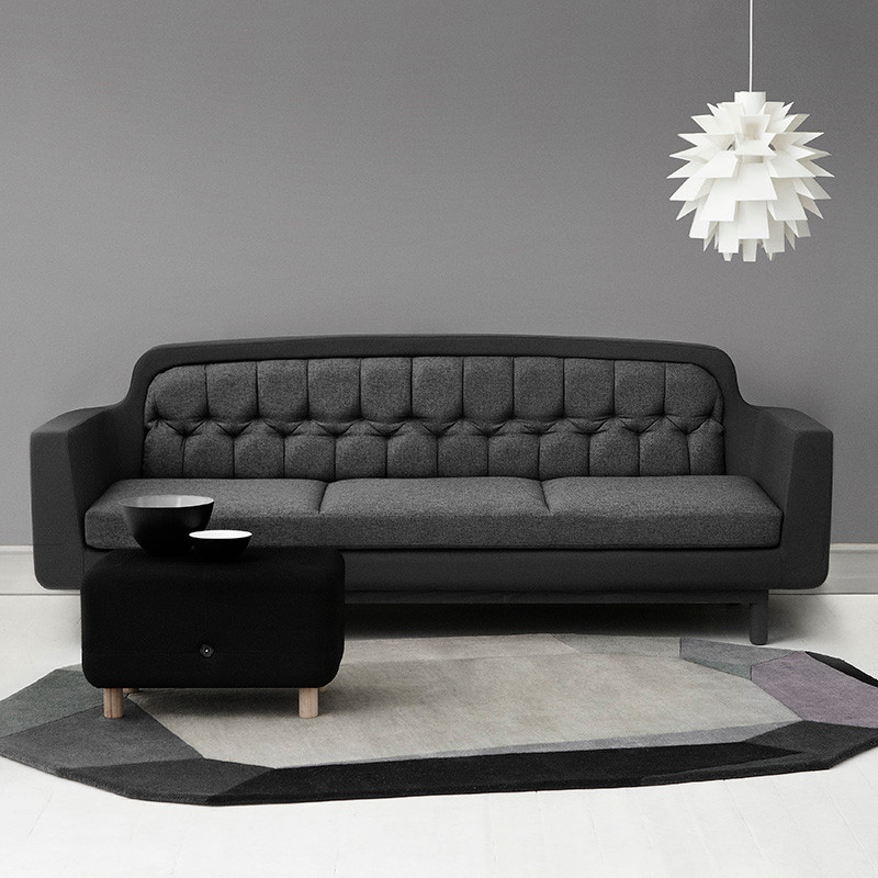 normann copenhagen onkel 3 seater. Black Bedroom Furniture Sets. Home Design Ideas