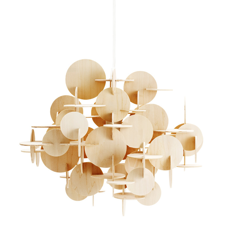 normann copenhagen bau lampe natur. Black Bedroom Furniture Sets. Home Design Ideas