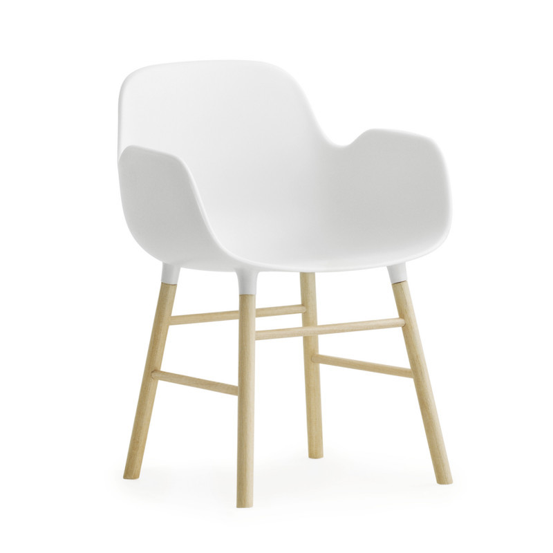 Miniature Møbler : Form armchair med armlæn i miniature format ...