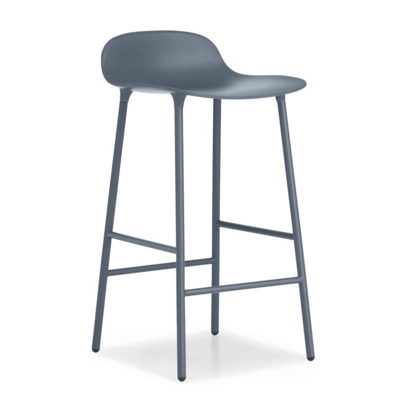 normann barstol Form barstol i stål fra Normann Copenhagen normann barstol