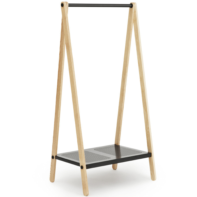 Toj, designed by Simon Legald for Normann Copenhagen, is a clothes rack with an industrial and simple expression. Its function is evident and its simple construction – with a rail, shelf and trusses – provides space for clothes, shoes and missionpan.gq Toj in the hall, in the living room, the office or the bedroom.