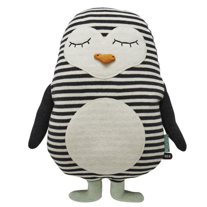 OYOY Pude Pingvin Pingo  Bamser og tekstiler til