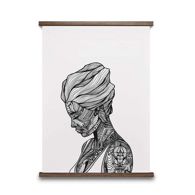 Paper Collective Plakat Reflection - Shop Illustrationer ...