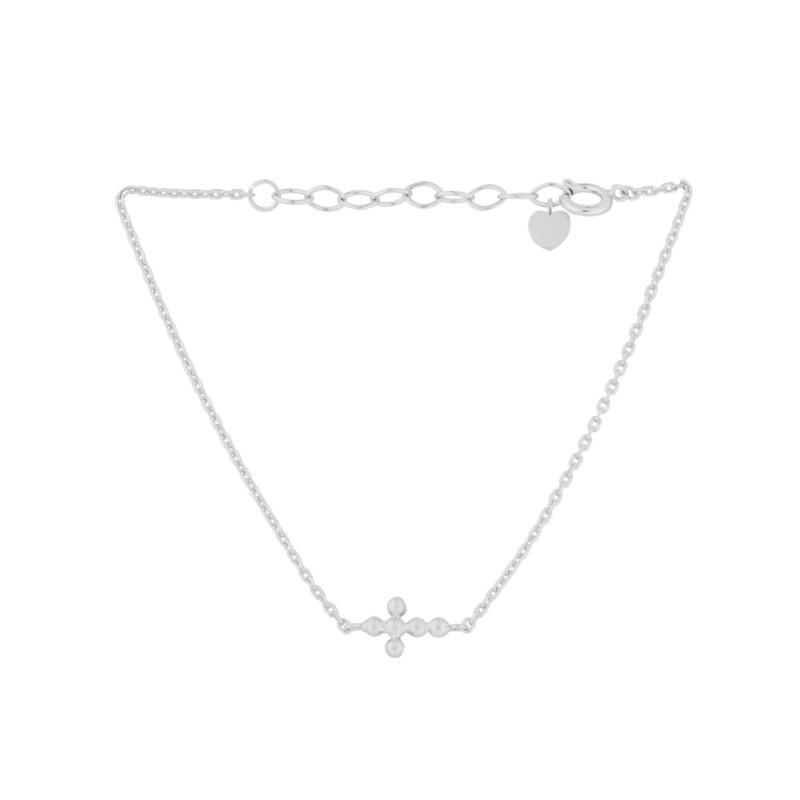 Pernille Corydon Cross Armbånd Sølv