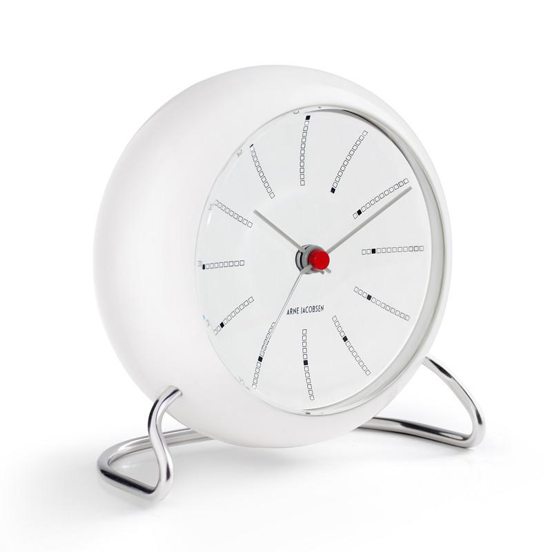 Velsete Rosendahl Arne Jacobsen Bordur Bankers Clock - Hurtig levering JT-64