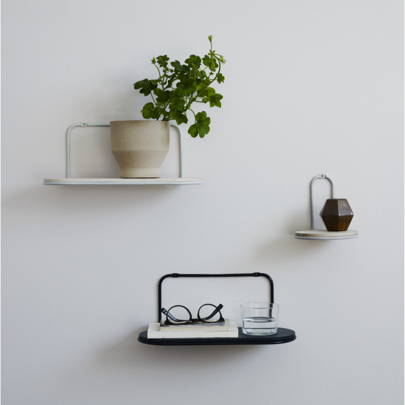 skagerak hylde wire shelf ask stor smukke hylder til opbevaring og pynt. Black Bedroom Furniture Sets. Home Design Ideas