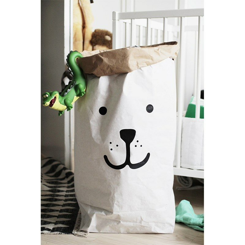 Tellkiddo Paper bag Bear Face