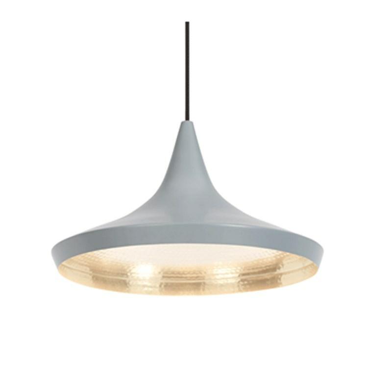 lampe designet af tom dixon beat light wide pendel. Black Bedroom Furniture Sets. Home Design Ideas