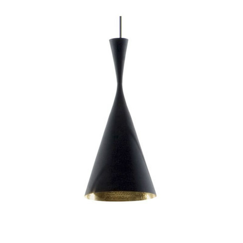 tom dixon lampe beat light tall pendel. Black Bedroom Furniture Sets. Home Design Ideas