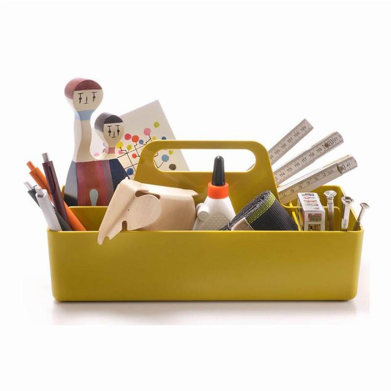vitra toolbox i sennepsfarvet luxoliving. Black Bedroom Furniture Sets. Home Design Ideas