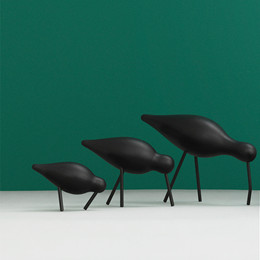 normann copenhagen fugl sort