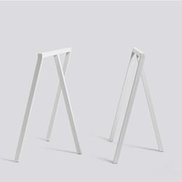 HAY Loop Stand Frame Bordbukke 2 stk. Hvid - Hurtig levering