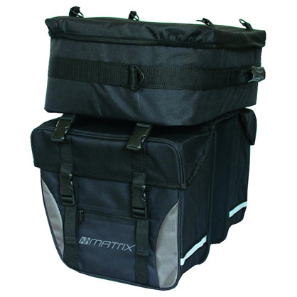 Matrix Touringtaske - dobbelt 32L m/topcase 18L | Travel bags