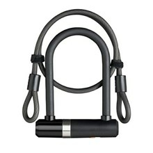 AXA  Mini U-Lock med kabel