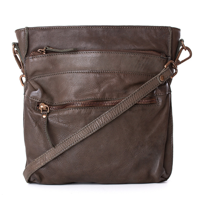 Treats crossover taske i skind
