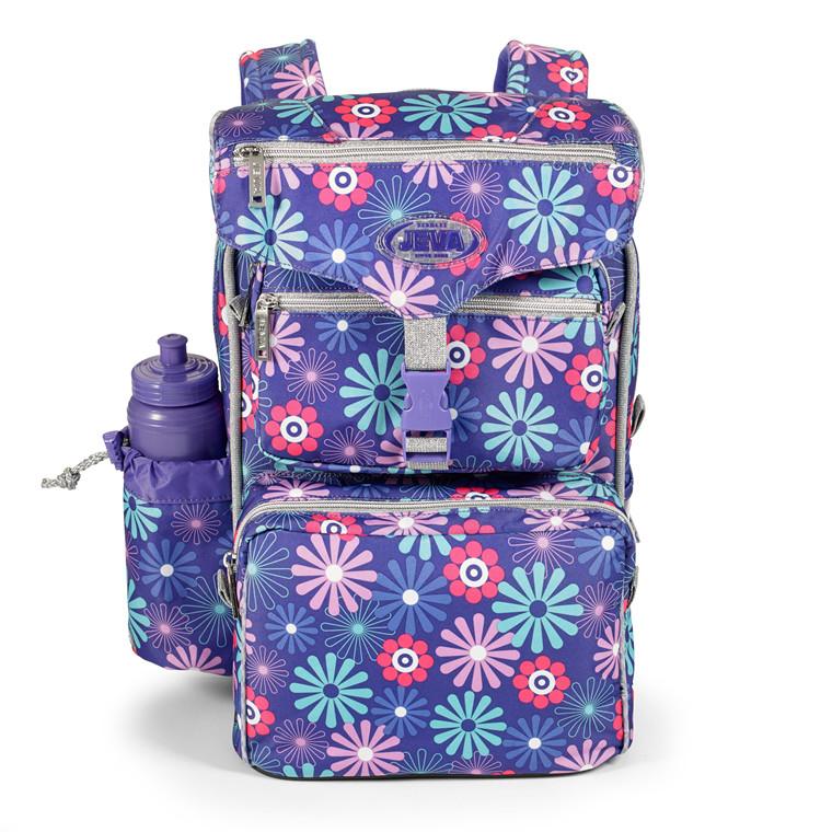 Jeva Beginners Violet skoletaske