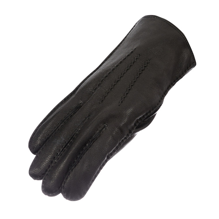 Randers herrehandske i skind m/for